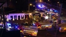 Police helicopter crashes into crowded pub in Scotland