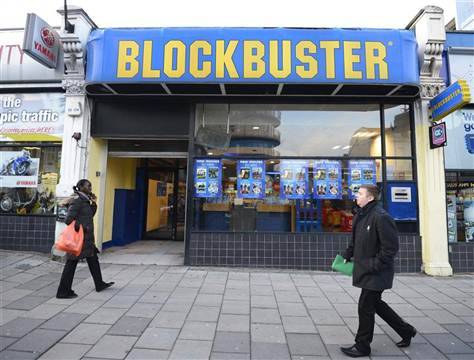 Blockbuster Video to close remaining 300 stores