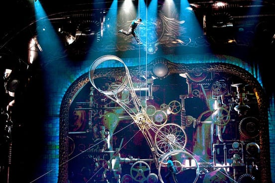 Cirque du Soleil Accident From 'Wheel of Death' VIDEO