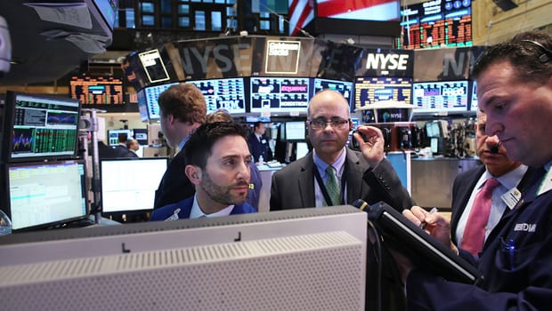 Dow Jones average reaches another record high