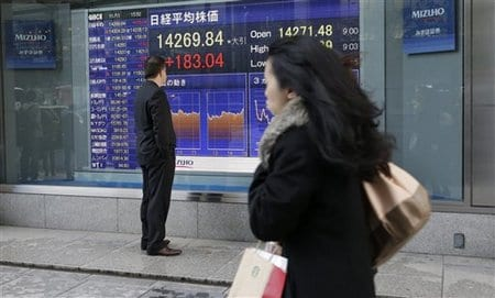 Global stocks mixed amid US stimulus jitters