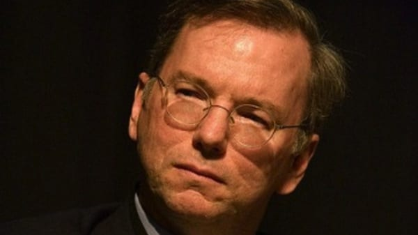 Google's Eric Schmidt: NSA spying 'outrageous'