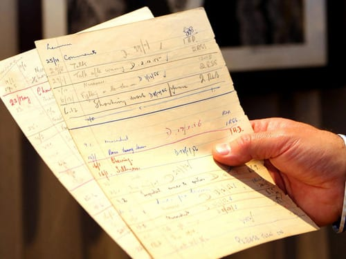 John Lennon's detention sheets, which show the former Beatle cited for fighting, 'sabotage,' to be auctioned