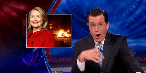 Colbert Blows Up 60 Minutes For Real Yo! Benghazi Report with Exclusive Leak From CBS Inter