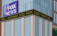 The Simpsons Brutally Mocks CNN, MSNBC and Especially Fox News
