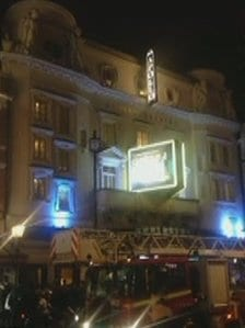 """Multiple casualties"" after balcony collapse at London Apollo Theatre, rescue operation under way"