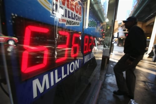 At least two winners in $636 million Mega Millions drawing