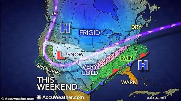 Ice Storm Freezes South, Midwest