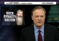 Lawrence O'Donnell Condemns Phil Robertson… But Not for His Comments About Homosexuality