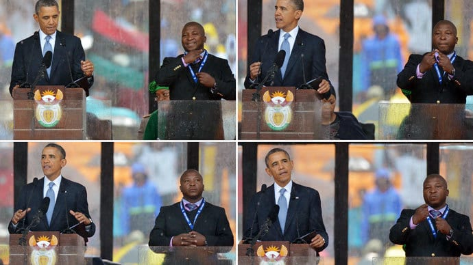 "[VIDEO] Mandela Event Fake Interpreter: ""I Was Hallucinating"" says he suffers from schizophrenia"
