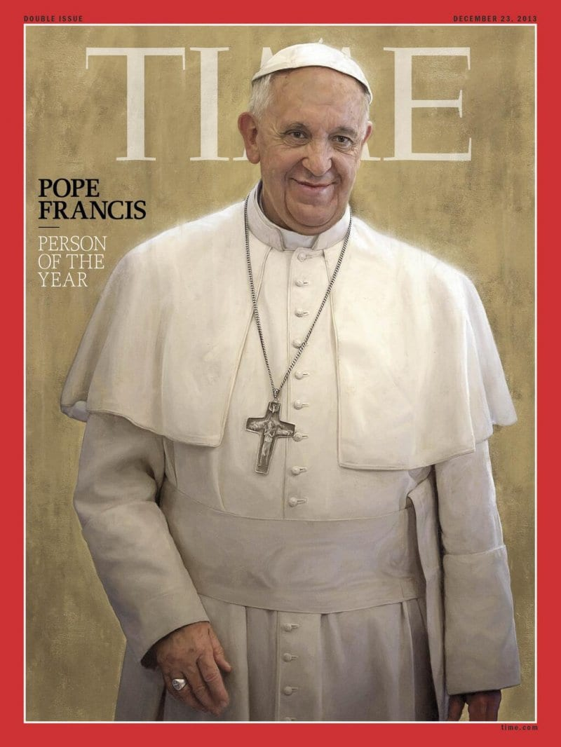 POPE FRANCIS TIME PERSON OF THE YEAR