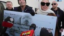 Pamela Anderson, Simpsons co-creator offer Newfoundland workers $1M novelty cheque to quit seal hunt