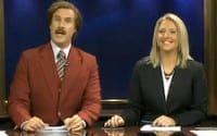 WATCH- Will Ferrell Anchors Entire Local News Broadcast as Ron Burgundy