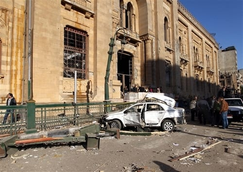 5 dead, dozens wounded as explosions rock Cairo