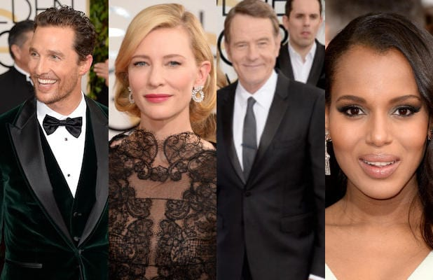 FULL LIST- 2014 Golden Globe Awards Winners and Losers