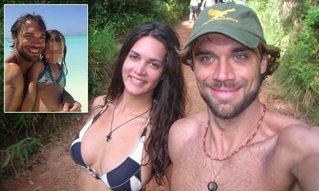 Thomas Henry Berry, 39, and his wife Monica Spear Mootz, 29 walk.jpg