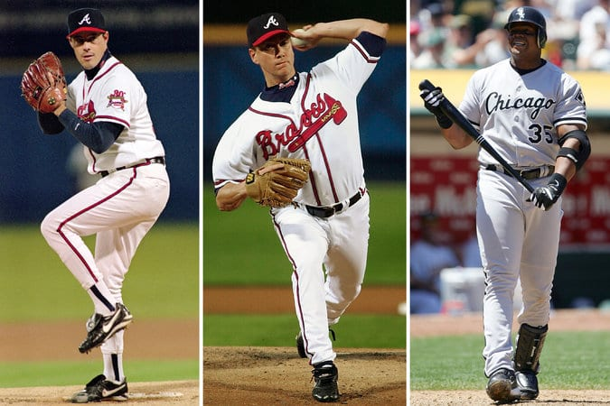 Maddux, Glavine and Thomas elected to Baseball Hall of Fame