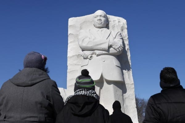 Martin Luther King Jr.'s 'dream' remembered as nation pauses to honor icon