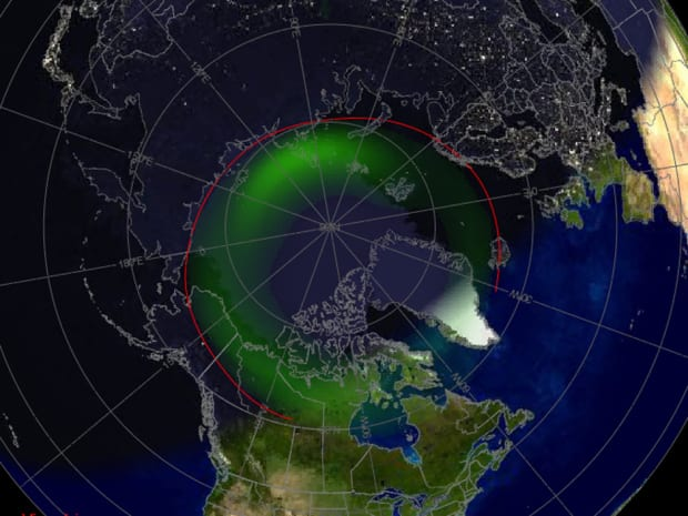 Northern lights set to shimmer through the sky after massive solar flare and radiation storm