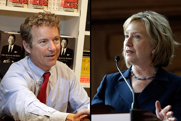 New GOP Strategy:  According To Rand Paul Hillary Shouldn't Be President Because Monica Lewinsky [VIDEO]