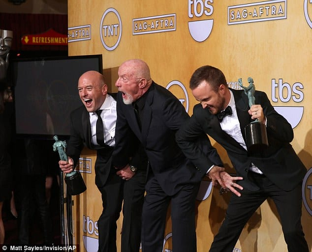 SCREEN ACTORS GUILD AWARDS 2014- THE WINNERS