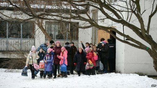 2 killed in Moscow school siege