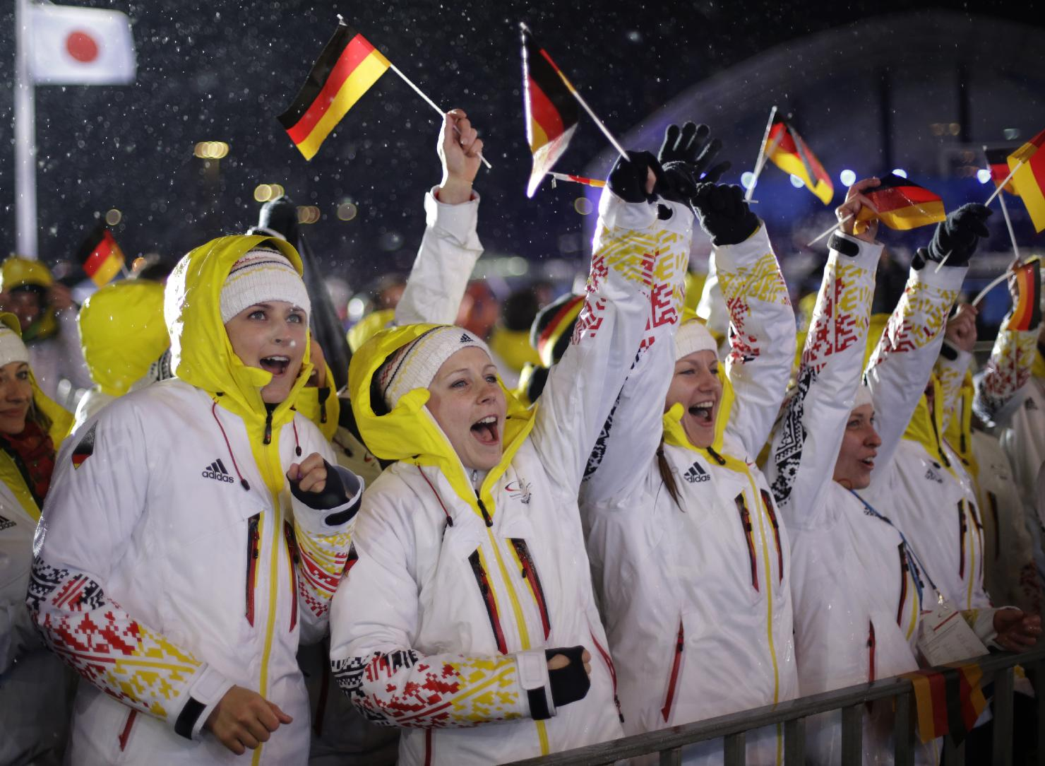 German athlete fails doping test, 1st case of the 2014 Olympics