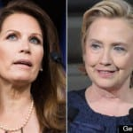 Michele Bachmann- Hillary can't ride wave of white 'guilt' into office like Obama did
