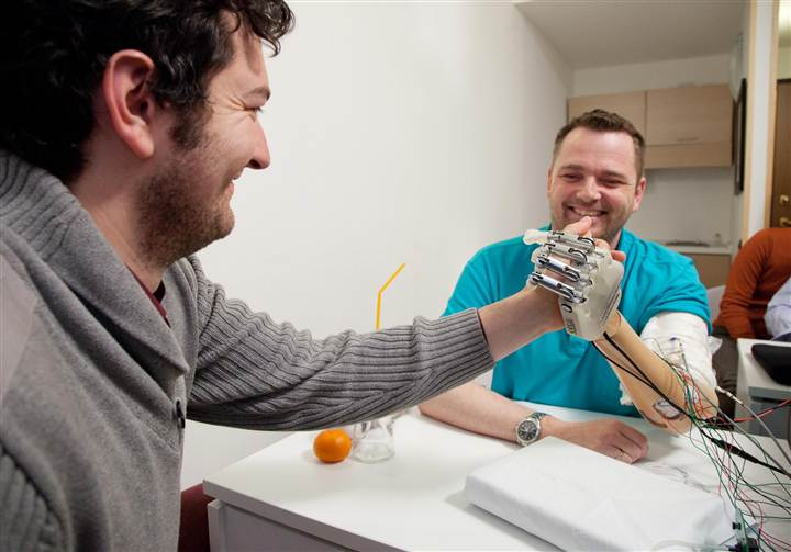 New Bionic Hand Restores Sense of Touch