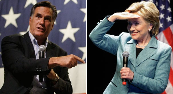 Romney- Hillary Clinton should be judged on her record