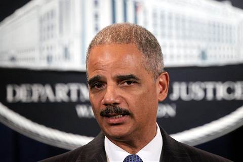 US Attorney General Eric Holder hospitalized