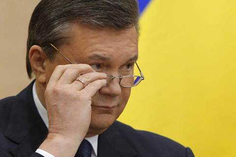 Ukraine's Yanukovych- I have not been deposed
