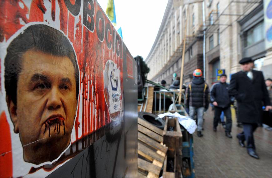 Ukrainian president and opposition sign early-poll deal