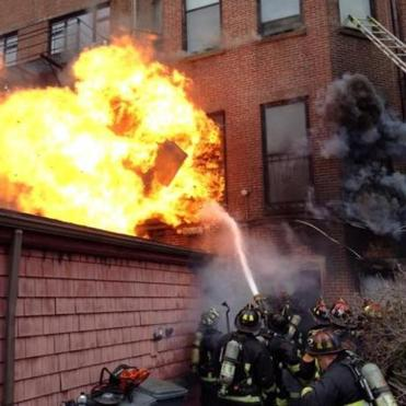 Boston officials- At least 17 injured in 9-alarm fire