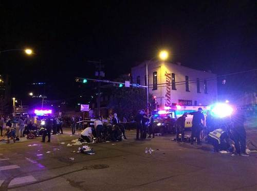 Car plows into crowd at SXSW festival in Austin, Texas