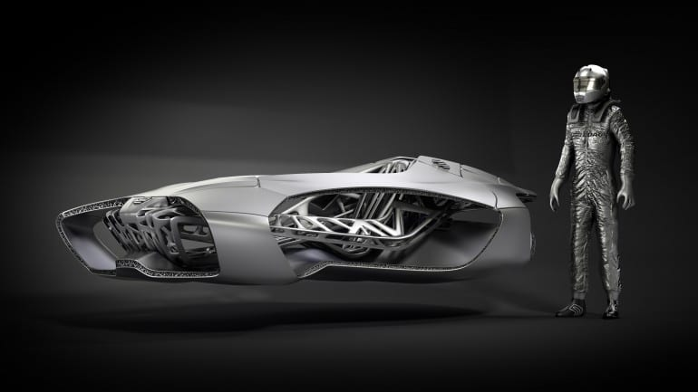 EDAG's Genesis- The 3D printed car of the future