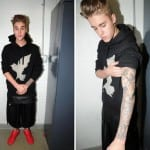 justin bieber peeing video