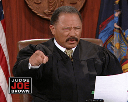 TV Judge Joe Brown Arrested After Flipping Out in Court