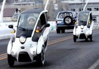 Toyota i-Road EVs trialled for last-mile car-sharing