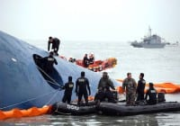 Crew of S. Korean Ferry Arrested