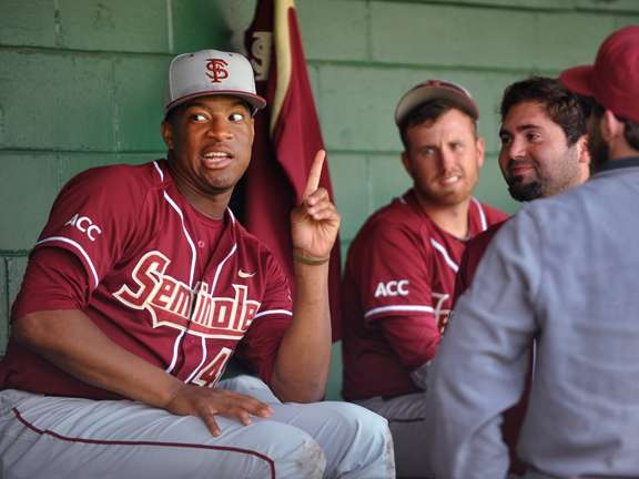 Jameis Winston suspended from Florida State baseball team
