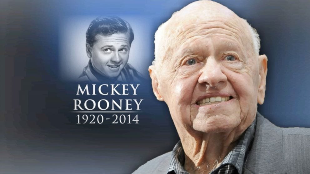 Legendary actor Mickey Rooney dies at 83