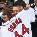 Obama-Big Papi selfie- White House objects to Samsung use