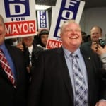 Toronto Mayor Rob Ford officially kicks off his re-election campaign