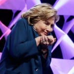 [VIDEO] Someone Threw a Shoe at Hillary Clinton During Vegas Speech