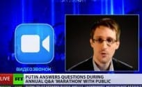 Watch Snowden Asking Putin- Do You Spy
