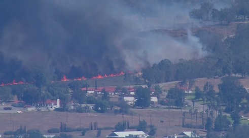 Multiple fires break out in San Diego area