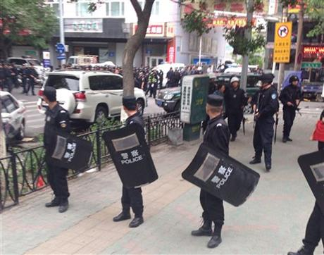 State media- Explosives used in attack in China's Xinjiang