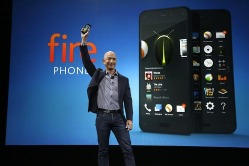 Amazon unveils its 1st smartphone