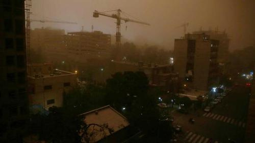 At least 4 dead after Iran dust storm